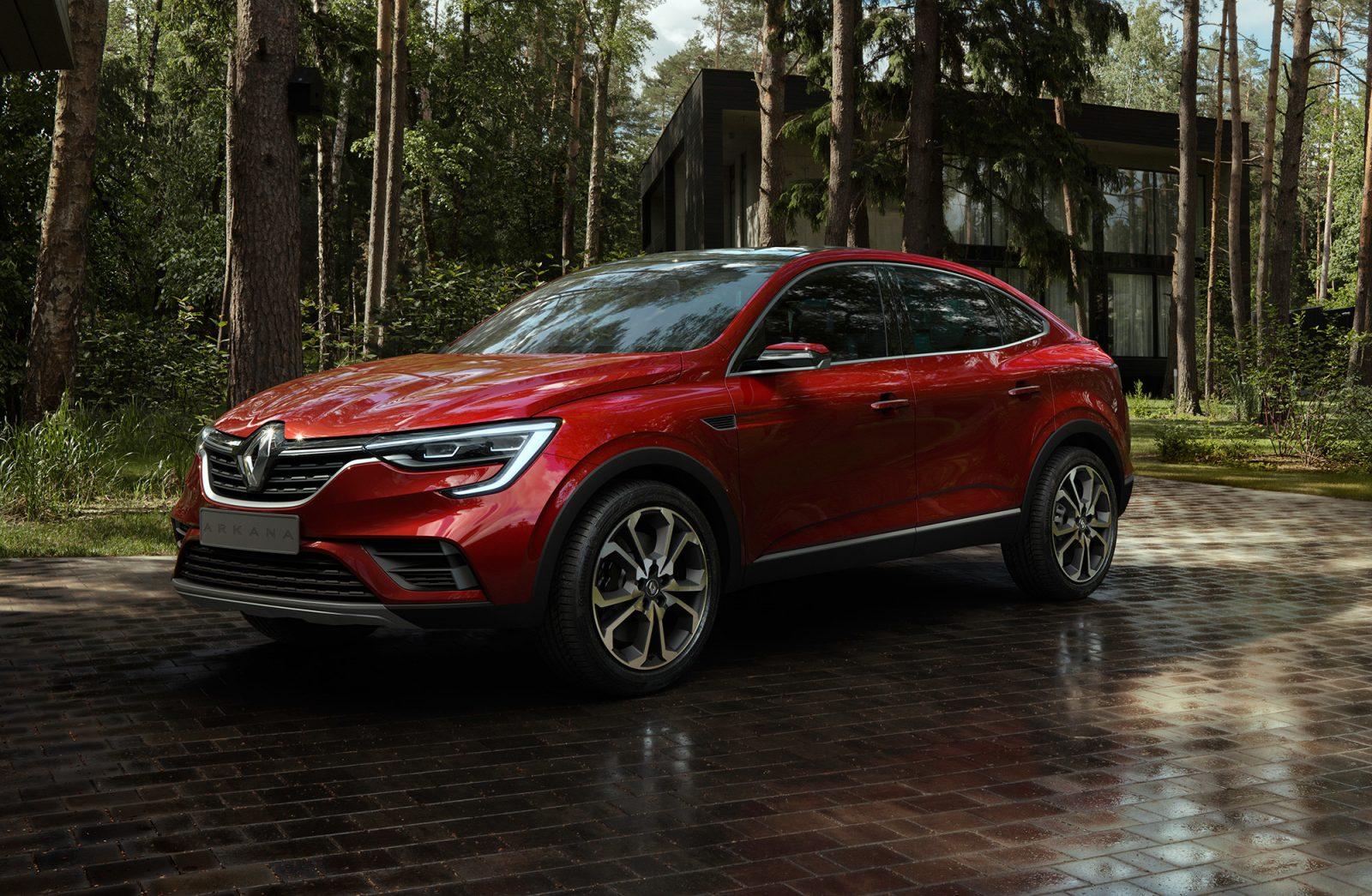 Renault Arkana - хит продаж будущего года