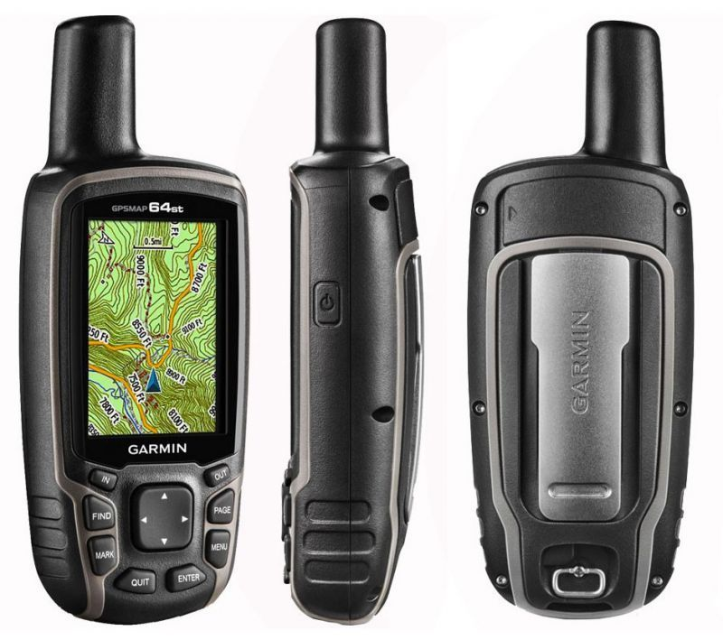 Garmin GPSMAP 64ST.