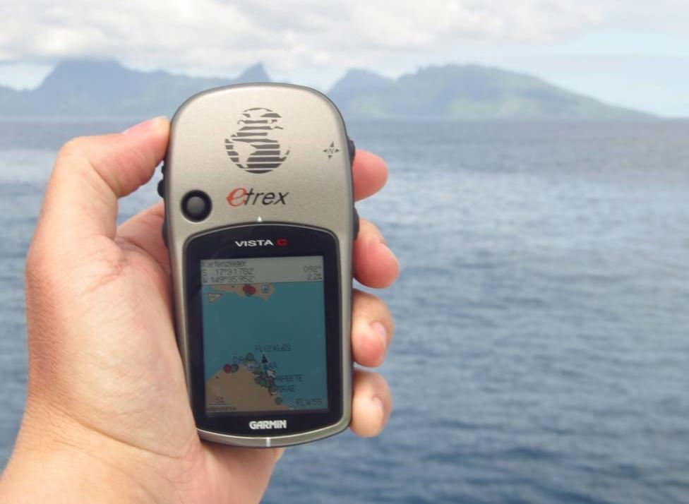 Компактный навигатор для рыбалки.