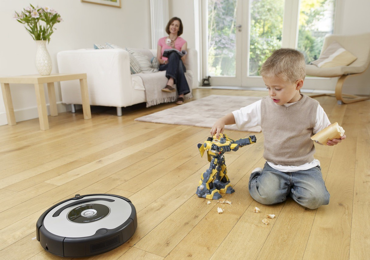 Никаких крошек с роботом-пылесосом!