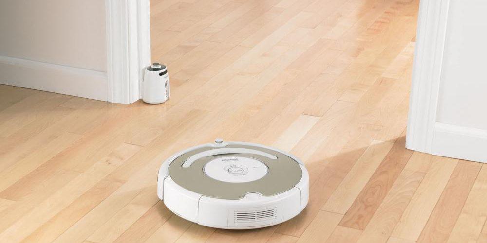 Робот-пылесос.