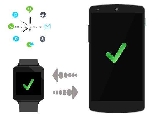 Телефон и умные часы подключены.