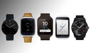 Модели умных часов.
