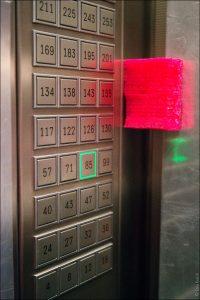 лифт небоскреба