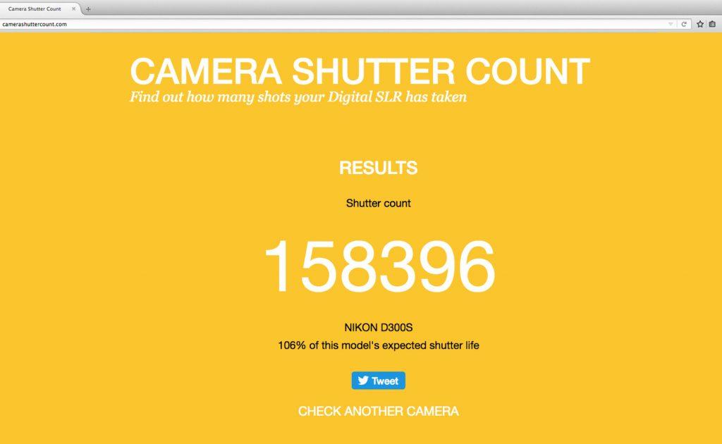 camerashuttercount.com
