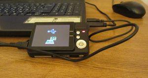 Перенос данных с фотоаппарата на компьютер.