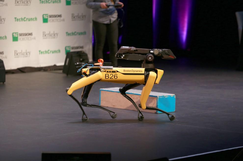 В продажу поступят роботы-собаки от Boston Dynamics