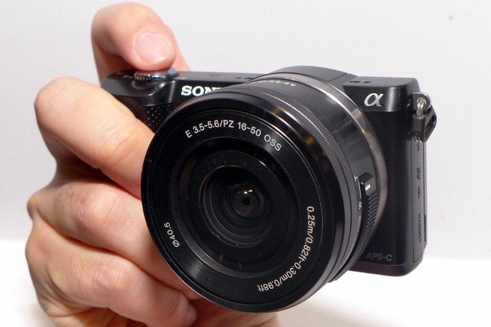 Съёмка беззеркальной камерой.