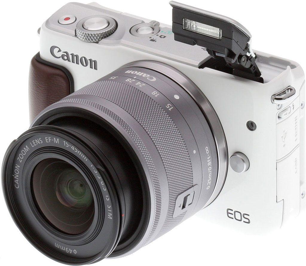 Canon EOS M10.