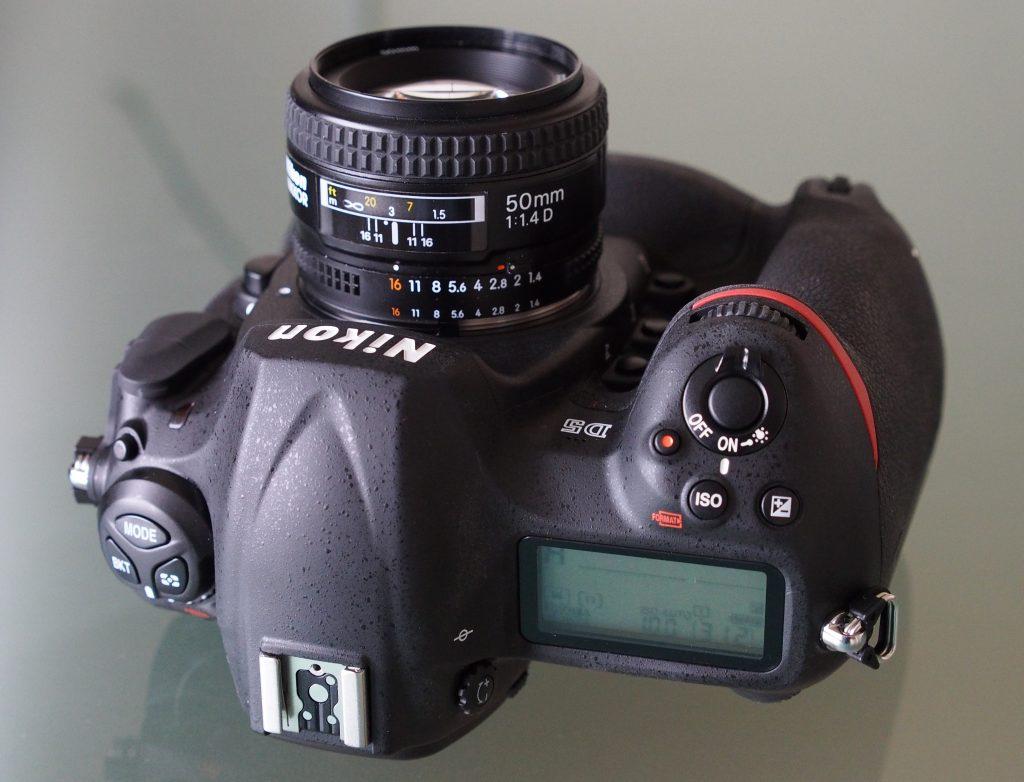 Nikon D5.