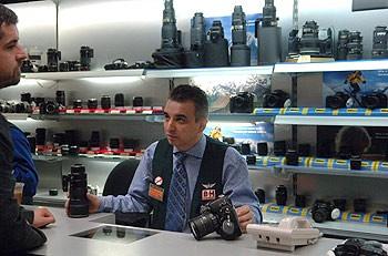 Покупка фотоаппарата.