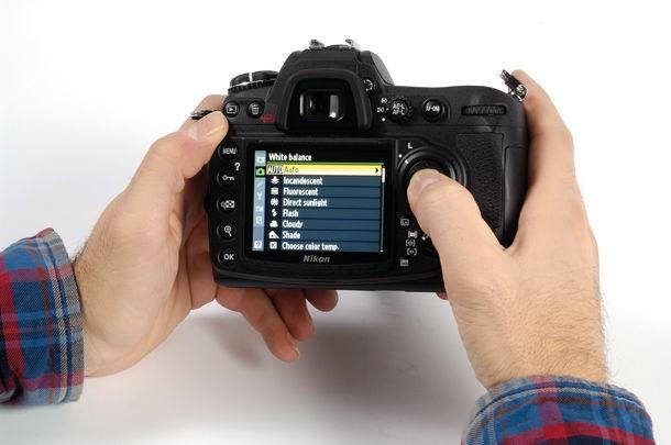 Осмотр фотоаппарата.