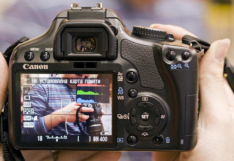 Как сделать проверку белого на фотоаппарате