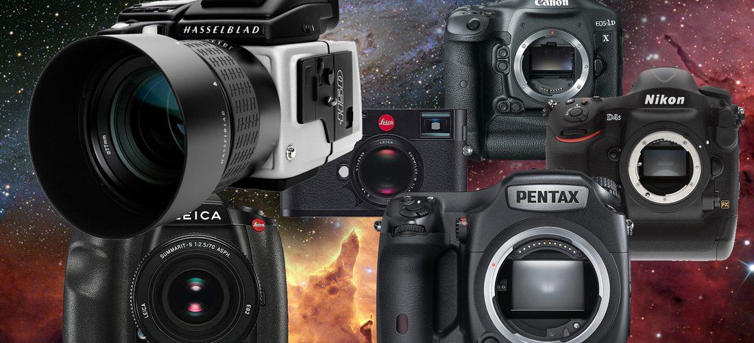 Профессиональные фотоаппараты.