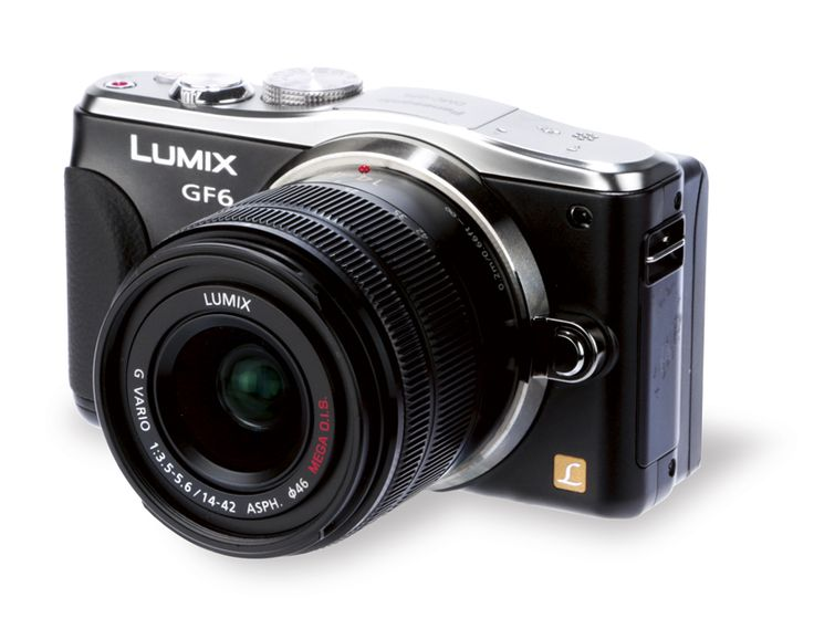 Panasonic Lumix DMC-GF6.