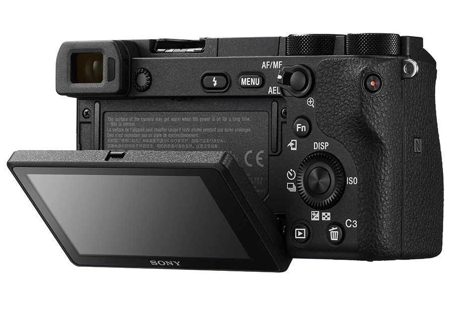 Беззеркальный фотоаппарат.