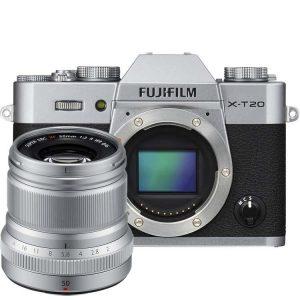 Фотокамера со сменной оптикой.