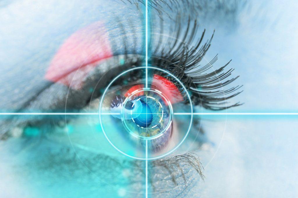 Умные контактные линзы со встроенной камерой.