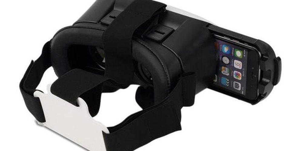 Очки виртуальной реальности с телефоном.