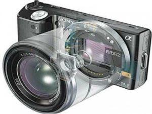 Устройство беззеркального фотоаппарарта