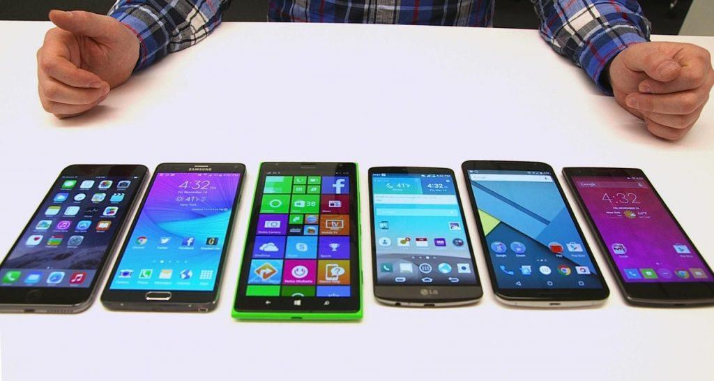 Отличия дорогих смартфонов от бюджетных.