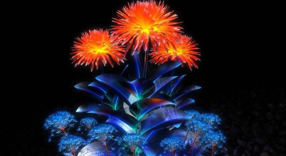 Светящиеся живые растения