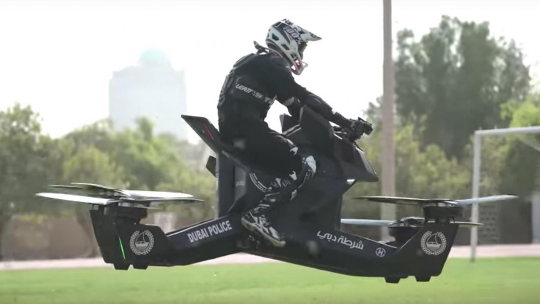 летающая полиция дубаи