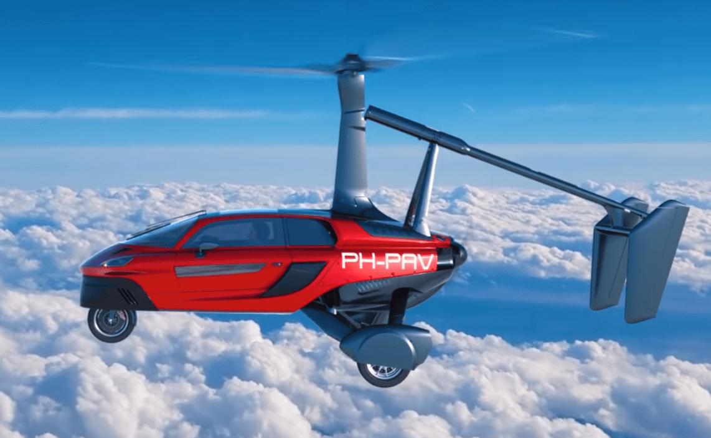 летающее авто-2019