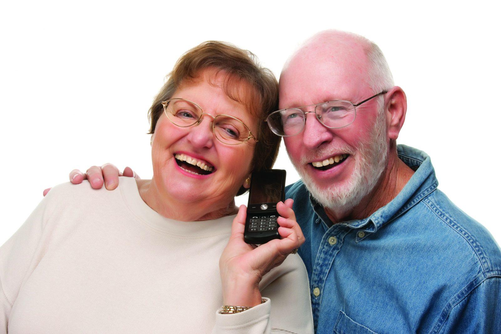 Телефон для пенсионеров.