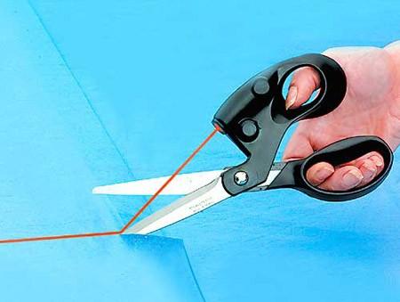 Ножницы с лазером