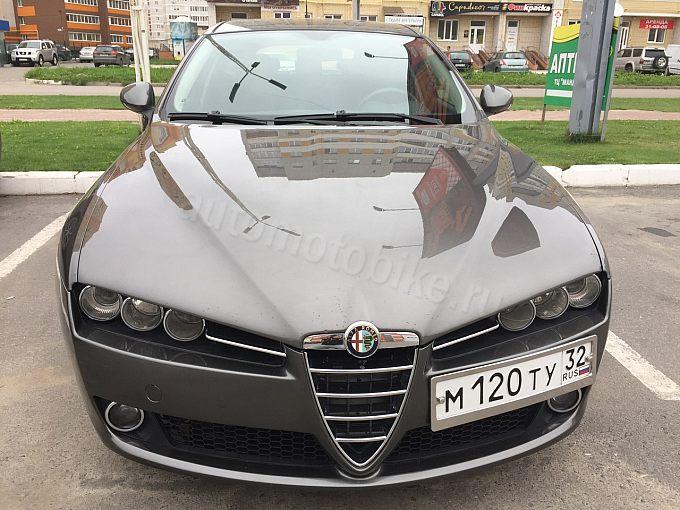 Alfa Romeo Brera серебро
