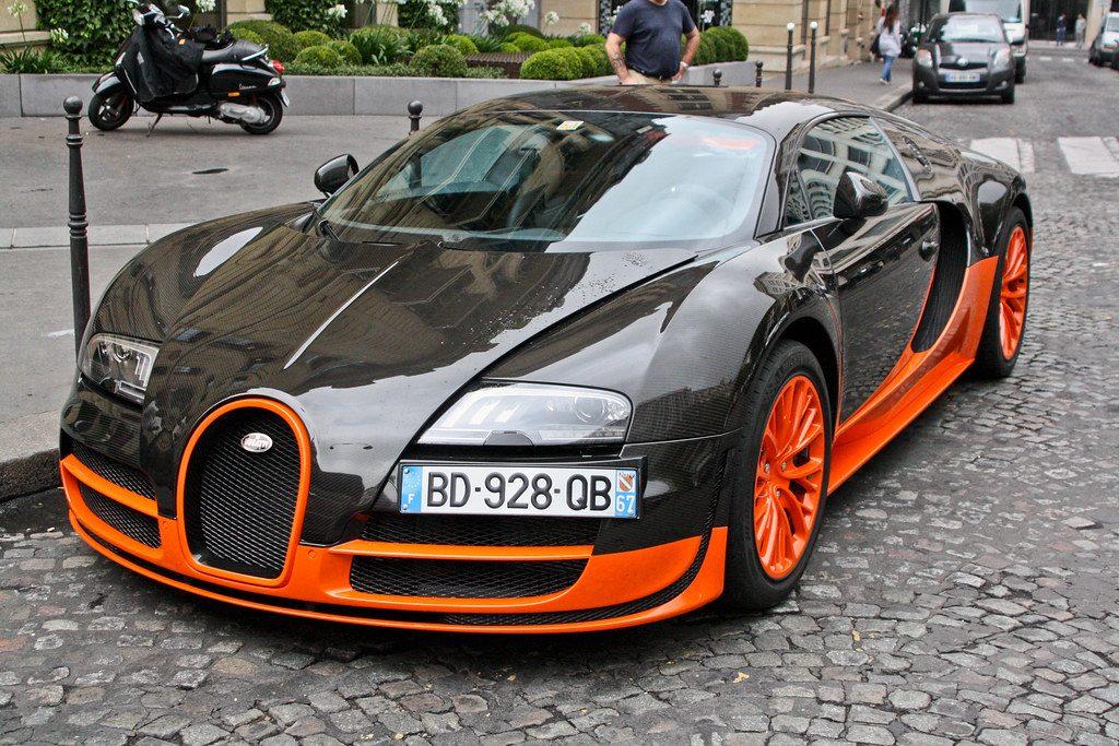 Bugatti Veyron Super Sport World Record Edition.