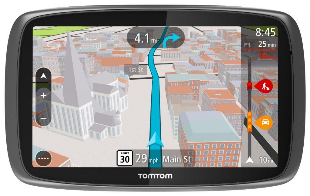 Навигатор с GPS.