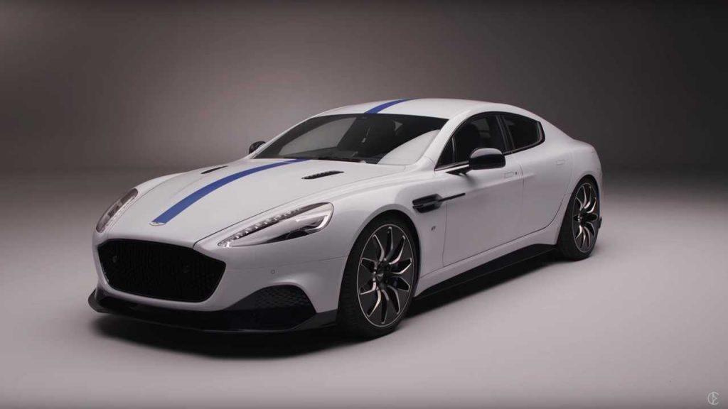 Aston Martin – Rapid E.