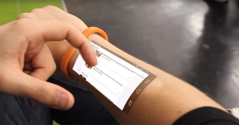 Cicret Bracelet: технологии будущего уже сегодня