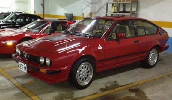 Alfa Romeo Alfetta 1987