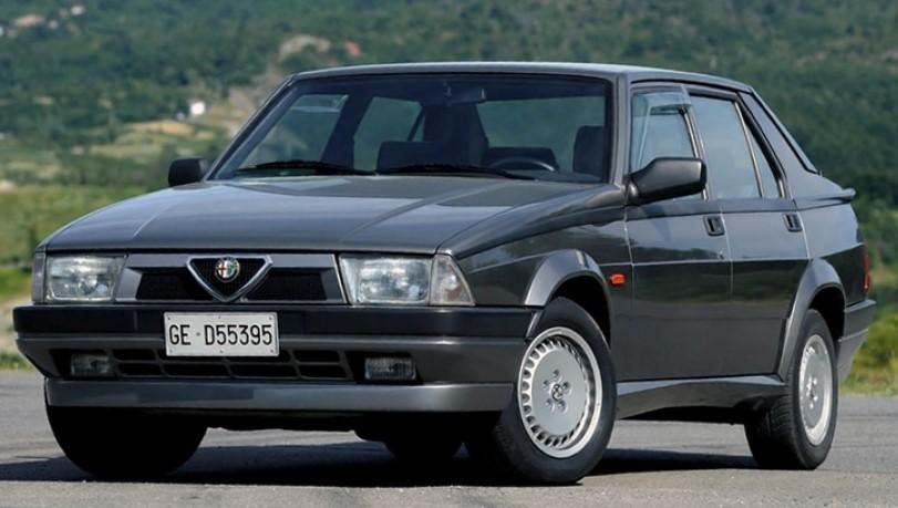 Обзор модели Alfa Romeo 75
