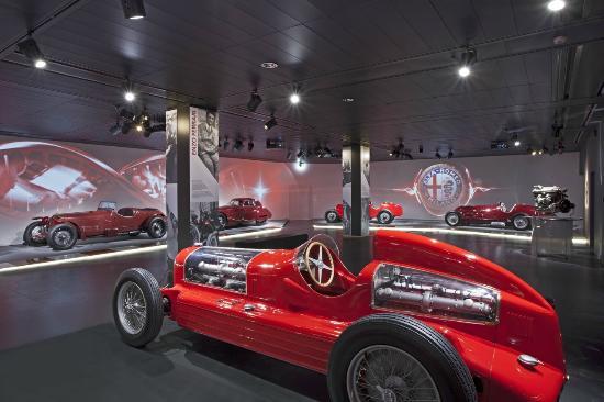 Музей «Альфа Ромео» в Милане