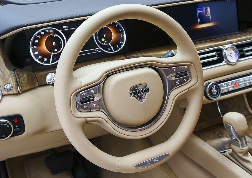 аурус руль и приборная доска
