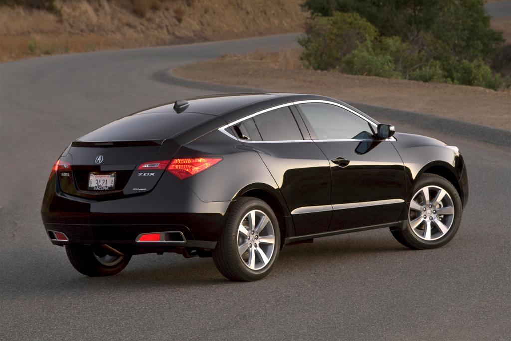 Acura ZDX – роскошный внедорожный провал