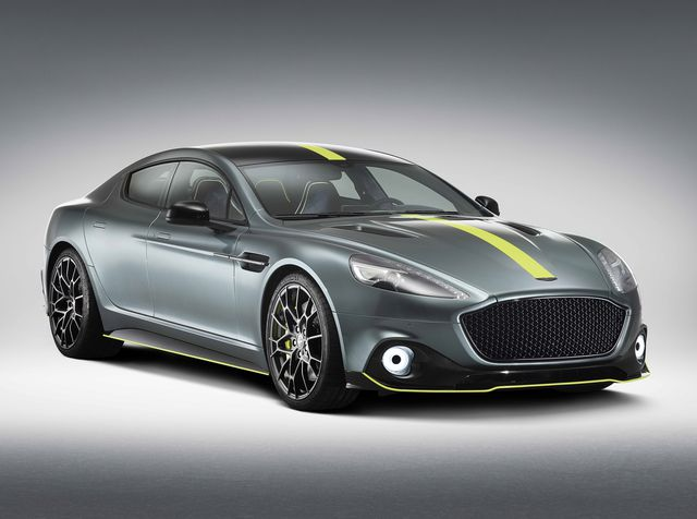 Aston Martin Rapide – единственный «честный» четырёхдверный спорткар