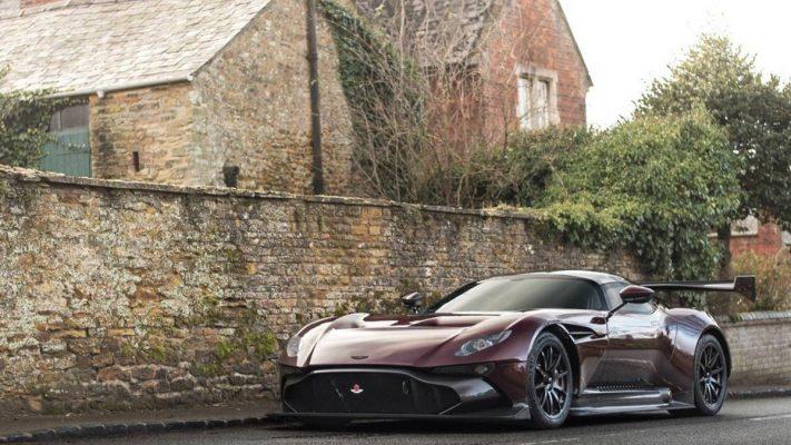 Aston Martin Vulcan Street-legal.
