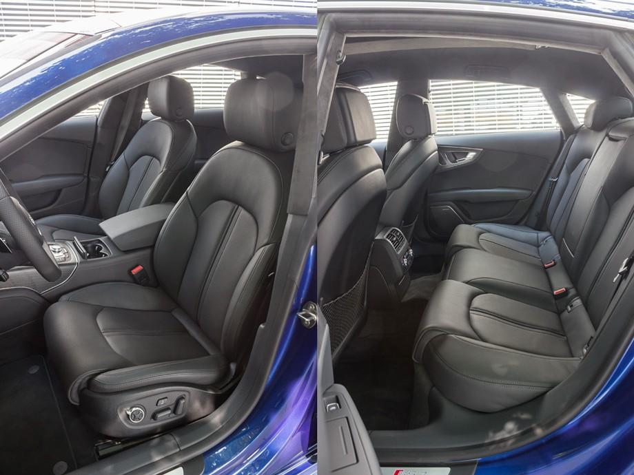 Audi RS 7 салон.