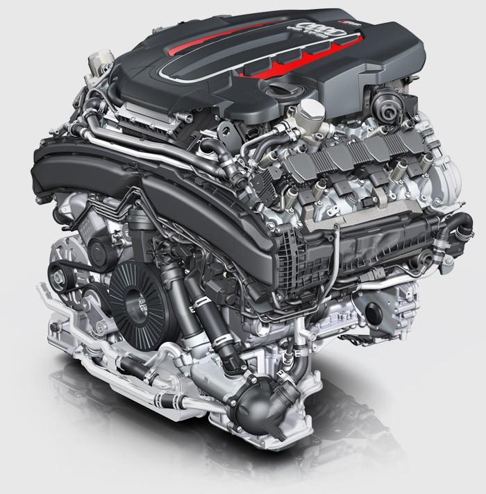 Audi RS 7 двигатель.
