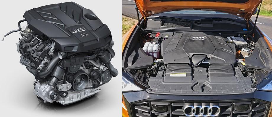Audi Q8 под капотом.