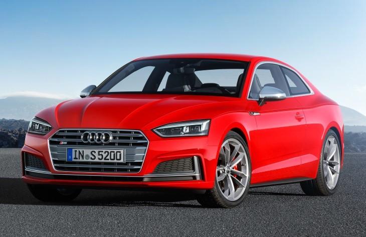Audi S5 2 поколение.