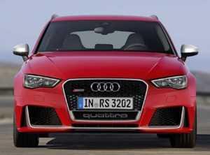 Audi RS3 третье поколение.