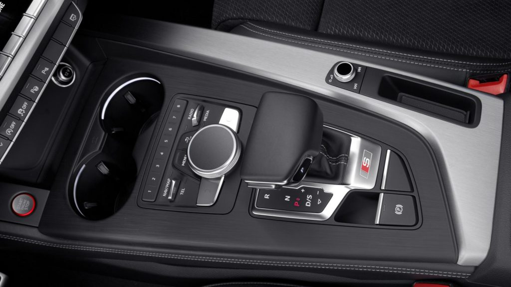 Audi S4 коробка передач.