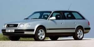 Audi S4 первая модификация.