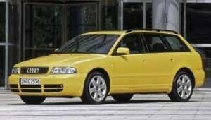 Audi S4 вторая модификация.